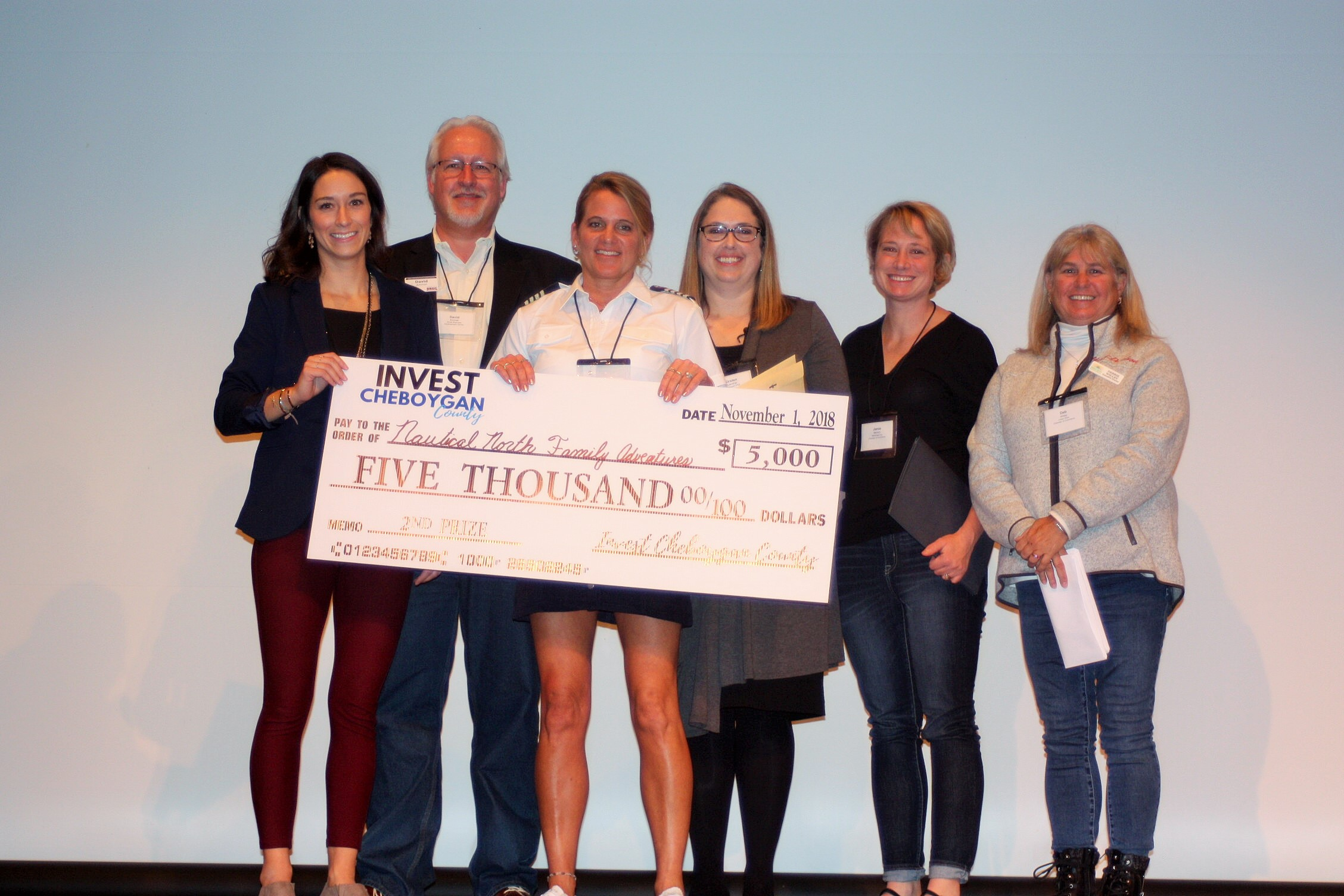 Invest Cheboygan County 2nd Place - Nautical North Family Adventures
