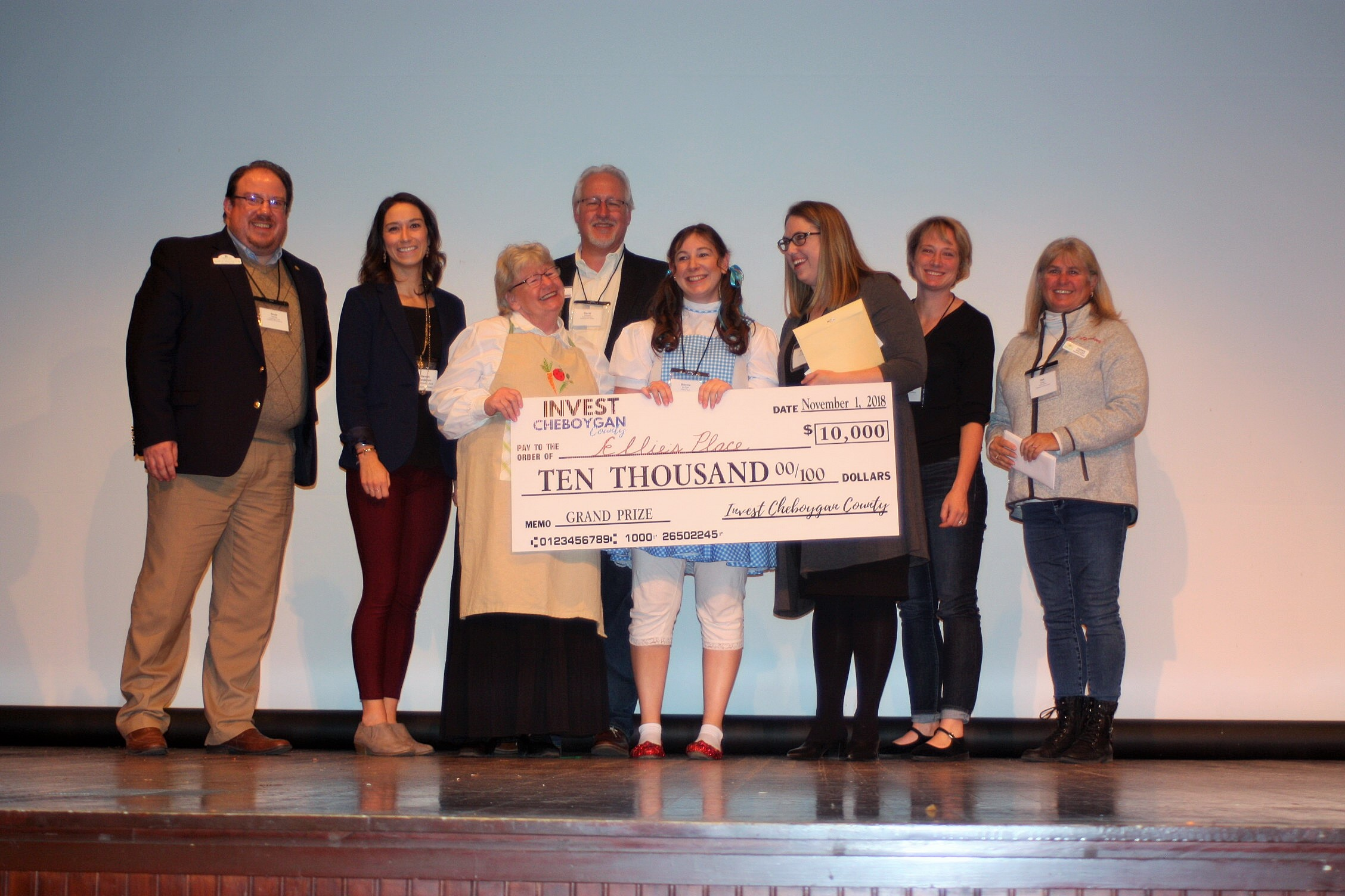 Invest Cheboygan County 1st Place & People's Choice - Ellie's Place