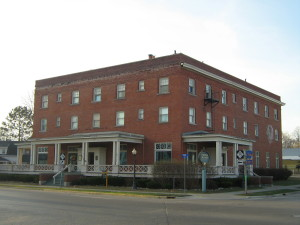 The Historic Dilworth Hotel in downtown Boyne City has been in a state of disrepair for many years, but will soon undergo a complete renovation to bring it back to a stately condition.