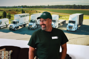 MIKE WALSH - Over-the-Road Truck Driver for Northern Logistics Worldwide