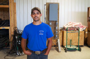 JEREMIAH WELD - Third-Year Electric Apprentice at Bear River Electric