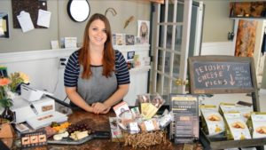 KATIE POTTS - Owner / Cheesemonger of Petoskey Cheese Columbia College Chicago - Bachelor of Arts in Business & Entrepreneurship