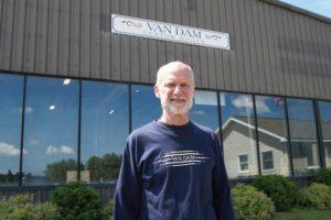 STEVE VAN DAM - Founder of Van Dam Custom Boats