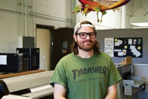 ADAM JACOBS - Pre-Press In-Position & Plating at Mitchell Graphics Kirtland Community College - Associate of Arts in Graphic Design Kendall College of Art & Design - Bachelor of Fine Art in Illustration