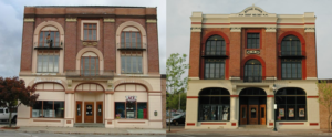 The Odd Fellows Building on Water Street in Boyne City has been the recipient of a facelift thanks to Façade Improvement Grant Funding.