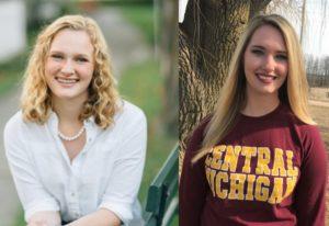 Sydney Smith and Amanda Fischer, NLEA's latest summer interns.