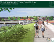 Joining Jordan waterfront project continues.