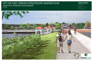 Artist rendition of Joining Jordan waterfront project.