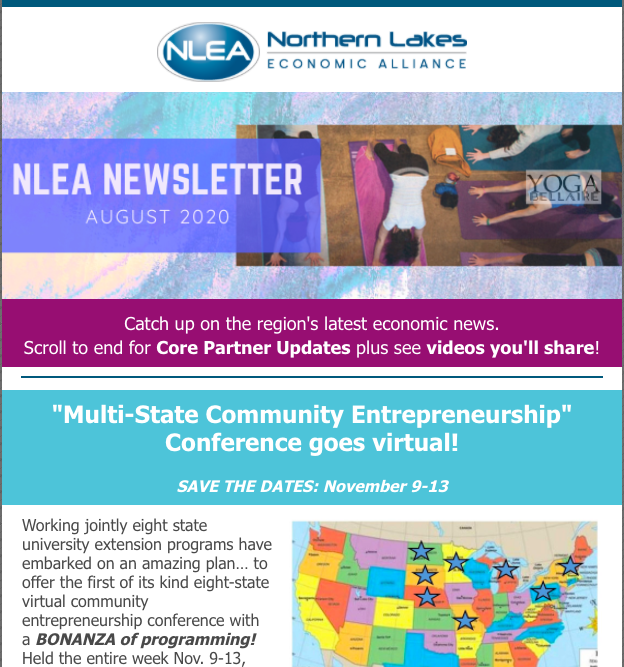 NLEA August 2020 newsletter preview