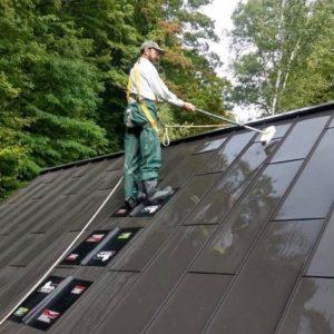 SteelGrip SAMM demo on roof