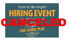 Northern Michigan largest hiring event canceled 2021