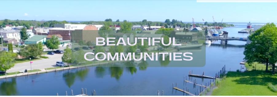 Northern Michigan beautiful communities