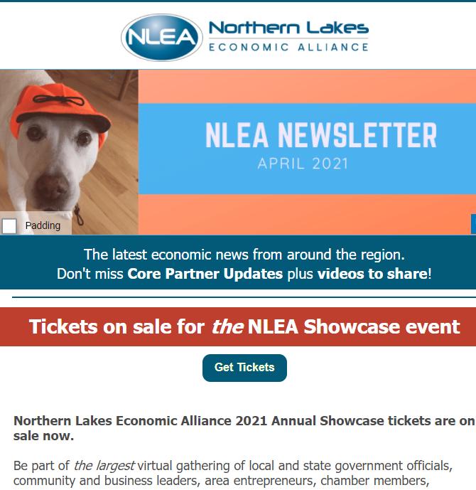 NLEA April 2021 newsletter