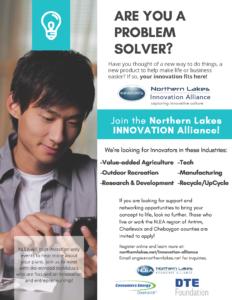 Northern lakes Innovation Alliance info sheet thumbnail