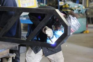 welding student